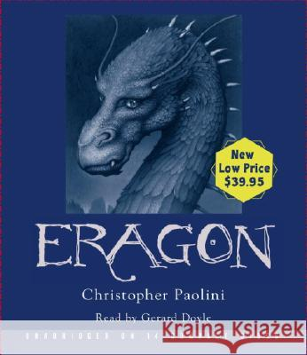 Eragon: Inheritance, Book I - audiobook Christopher Paolini Gerard Doyle 9781400090686 Listening Library