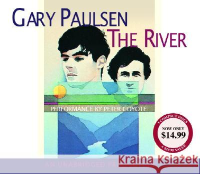 The River - audiobook Gary Paulsen Peter Coyote 9781400099177