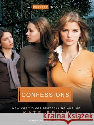 Confessions - audiobook Kate Brian Cassandra Campbell 9781400142347 Tantor Media