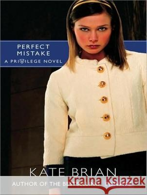 Perfect Mistake - audiobook Kate Brian Justine Eyre 9781400142446