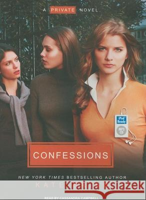 Confessions - audiobook Kate Brian Cassandra Campbell 9781400162345 Tantor Media