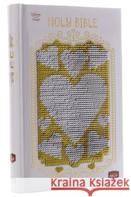 Sequin Sparkle and Change Bible: Silver and Gold NKJV: New King James Version Thomas Nelson 9781400211876