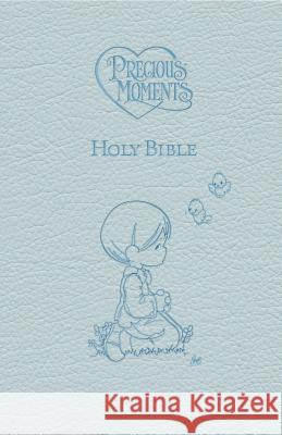 ICB, Precious Moments Holy Bible, Leathersoft, Blue : International Children's Bible Nelson Bibles 9781400316656