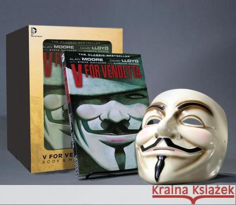 V for Vendetta Deluxe Collector Set [With Mask] Alan Moore 9781401238582