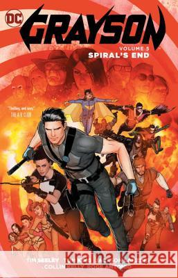 Grayson Vol. 5: Spiral's End Tom King 9781401268251