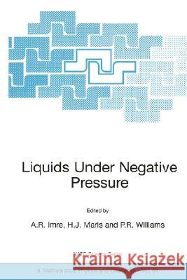 Liquids Under Negative Pressure: Proceedings of the NATO Advanced Research Workshop of Liquids Under Negative Pressure Budapest, Hungary 23-25 Februar A. R. Imre A. R. Imre H. J. Maris 9781402008955