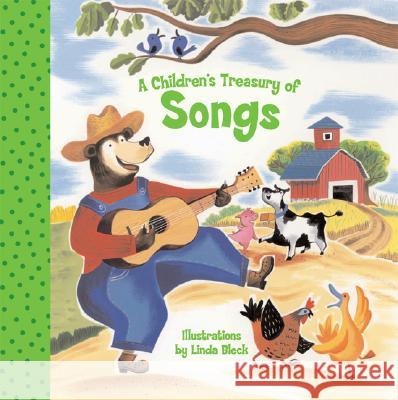 A Children's Treasury of Songs Linda Bleck 9781402729812