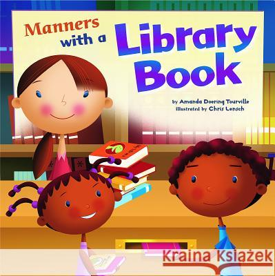 Manners with a Library Book Amanda Doerin 9781404853140