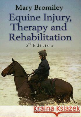 Equine Injury, Therapy and Rehabilitation Mary Bromiley 9781405150613