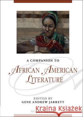 A Companion to African American Literature  9781405188623