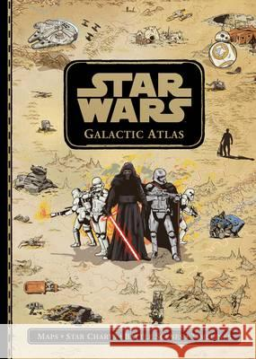 Star Wars Galactic Atlas  Lucasfilm Ltd 9781405279987