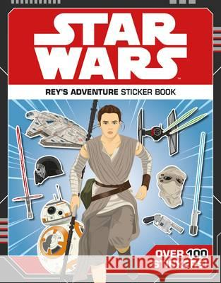 Star Wars Rey's Adventure Sticker Book  Lucasfilm Ltd 9781405285100