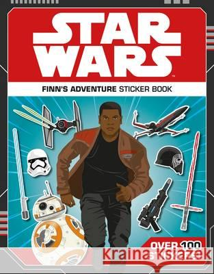Star Wars Finn's Adventure Sticker Book  Lucasfilm Ltd 9781405285117