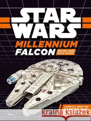 Star Wars Millennium Falcon Book and Mega Model  Lucasfilm Ltd 9781405285223