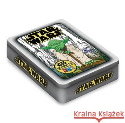 Star Wars Colouring Tin  Lucasfilm Ltd 9781405286381