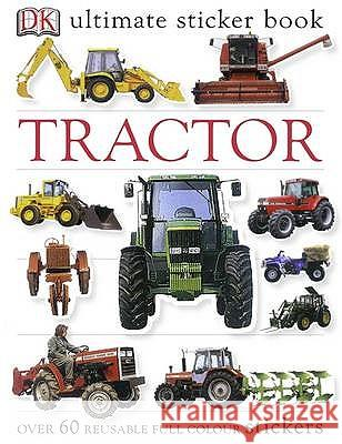 Tractor Ultimate Sticker Book   9781405304467