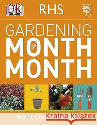 RHS Gardening Month by Month   9781405363051