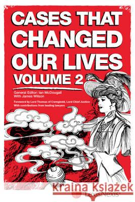 Cases That Changed Our Lives  McDougall, Ian 9781405791458