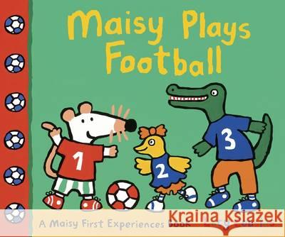 Maisy Plays Football Lucy Cousins 9781406358148