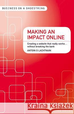 Making an Impact Online... on a Shoestring: Creating a Website That Really Works Without Breaking the Bank Antoin O Lachtnain 9781408139905