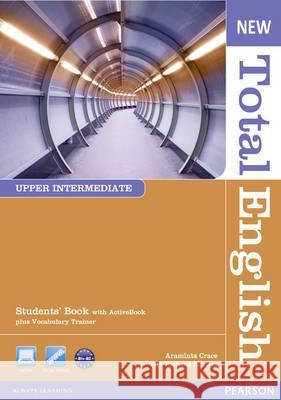 New Total English Upper Intermediate Students' Book with Act Crace Araminta Acklam Richard 9781408267240 LONGMAN
