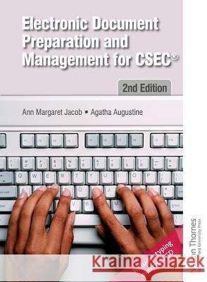 Electronic Document Preparation and Management Ann-Margaret Jacob Agatha Augustine  9781408516133