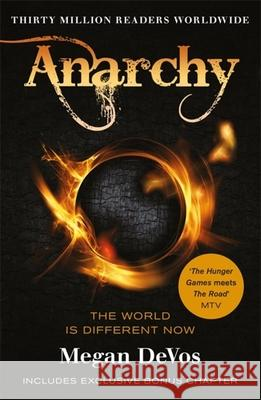 Anarchy: The Hunger Games for a New Generation DeVos, Megan 9781409183846 Orion