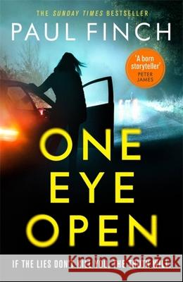 One Eye Open: 2020's must-read standalone from the Sunday Times bestseller! Paul Finch   9781409184010