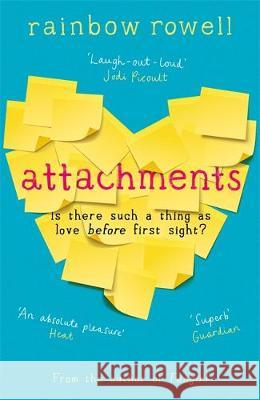 Attachments Rainbow Rowell Rebecca Lowman  9781409195795