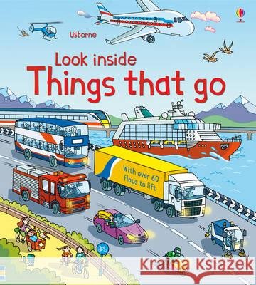 Look Inside Things That Go Jones Rob Lloyd 9781409550259
