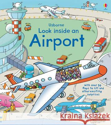 Look Inside an Airport Rob Lloyd Jones 9781409551768