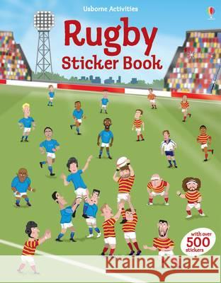 Rugby Sticker Book Jonathan Melmoth 9781409595106