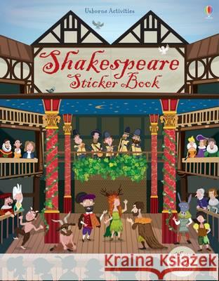 Shakespeare Sticker Book Rob Lloyd Jones 9781409596479