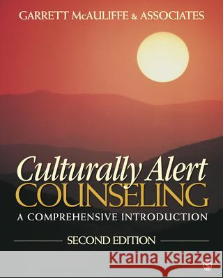 Culturally Alert Counseling: A Comprehensive Introduction [With DVD]   9781412981354