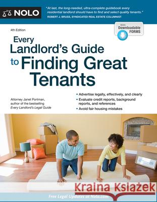 Every Landlord's Guide to Finding Great Tenants  9781413323870