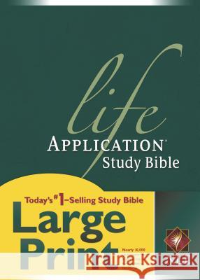 Life Application Study Bible-NLT-Large Print Tyndale House Publishers 9781414307206