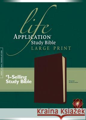 Life Application Study Bible-NLT-Large Print Tyndale House Publishers 9781414307213