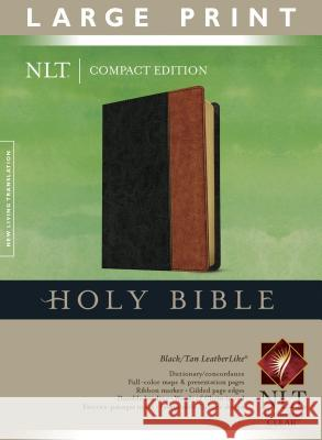 Large Print Compact Bible-NLT Tyndale House Publishers 9781414312576