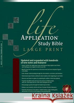 Life Application Study Bible-NLT-Large Print Tyndale House Publishers 9781414313214