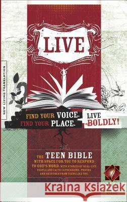 Live Bible-NLT [With Stickers and Poster]   9781414314419
