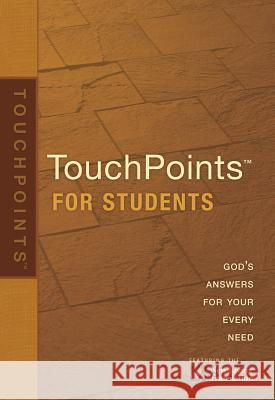 Touchpoints for Students Ronald A. Beers Amy E. Mason 9781414320212