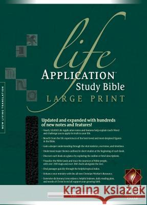 Life Application Study Bible-NLT-Large Print Tyndale 9781414332017