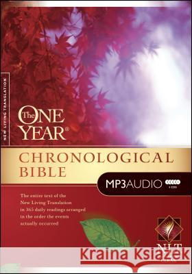 One Year Chronological Bible-NLT Todd Busteed Gap Digital 9781414336527