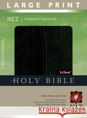 Large Print Bible-NLT-Compact Tyndale 9781414337586