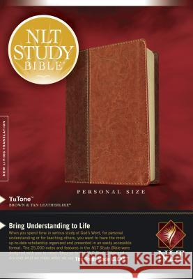 Study Bible-NLT-Personal Size Tyndale 9781414338590