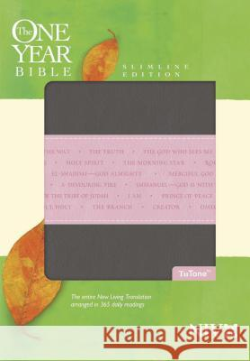 One Year Bible-NIV-Slimline: Arranged in 365 Daily Readings Tyndale 9781414338620