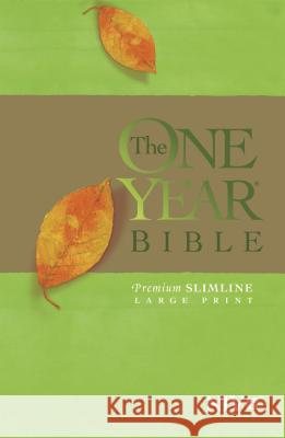 One Year Bible-NIV-Premium Slimline Large Print Tyndale House Publishers 9781414359854