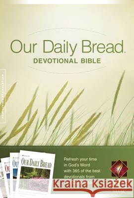 Our Daily Bread Devotional Bible-NLT  9781414361956
