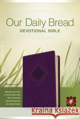 Our Daily Bread Devotional Bible-NLT  9781414361987