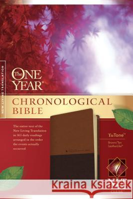 One Year Chronological Bible-NLT  9781414363318